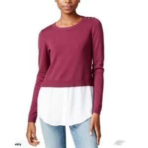 Maison jules Layered sweater